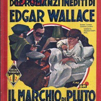 Edgar Wallace, Il Marchio Di Pluto / Paura – Giallo Itália 1937 Coleção Giallo Itália familiamuda.com.br