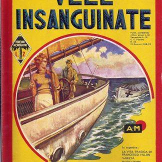 M.R. Rinehart, Vele Insanguinate – Gialli Mondadori Itália 1936 M.R. Rinehart familiamuda.com.br