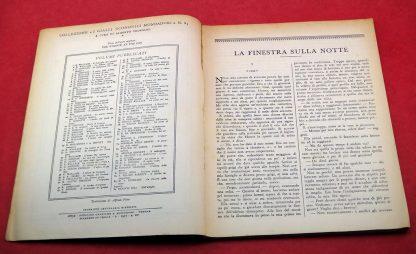 M. R. Rinehart, La Finestra Sulla Notte - Giallo Itália 1937