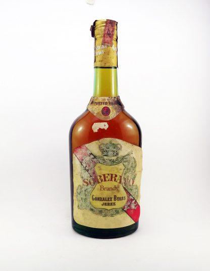 Brandy De Jerez Soberano Gonzales Byass Anos 70