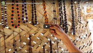 Legítimos brincos confeccionados por tribos da Amazônia