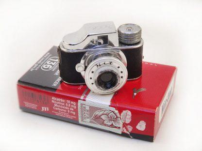Rara e antiga Câmera Hit, espiã sub-miniatura, década de 50
