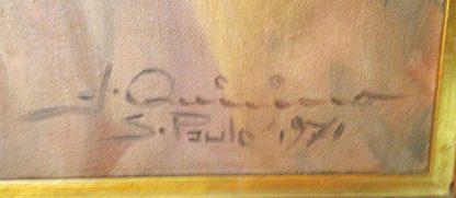 "José Quirino, quadro ""Marujo"", óleo s/ tela"
