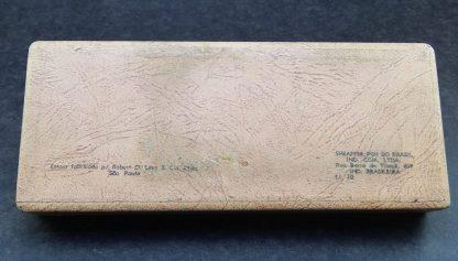 Antiga Rara Caneta, Sheaffer's Snorkel, Pena de Ouro 14k, Anos 50