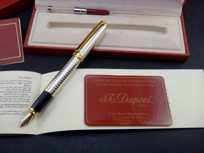 Caneta S. T. Dupont, Fidelio em paládio, pena de ouro 14K