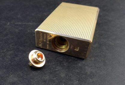 Isqueiro Dupont folhado a ouro 20 microns
