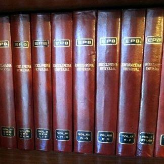 Rara Enciclopédia Epb Universal 1969 Completa 12 Vol