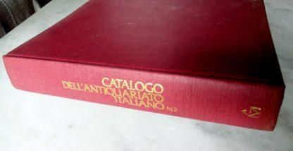 Raríssimo Catálogo Antiquário Italiano 1982 Com Avaliações