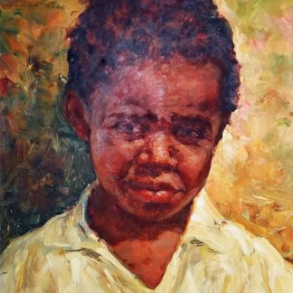 Manuel Navarro, Pretito, pintura a óleo
