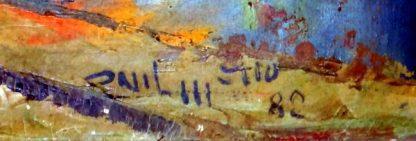 Onil Mello, Casarão, pintura a óleo
