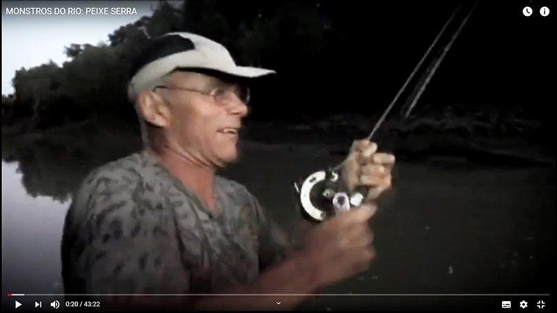 Carretilha Shimano TLD-20, Monstros do rio