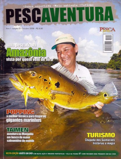 Revista PescAventura 001
