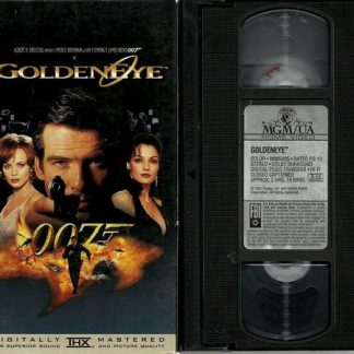 007 Goldeneye, James Bond, VHS original