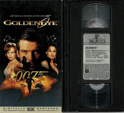 007 Goldeneye, James Bond, VHS original