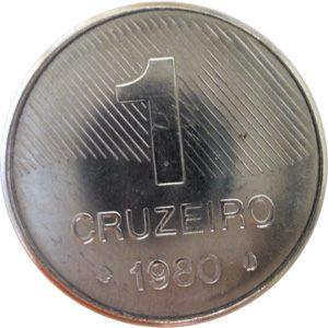 Moeda de 1 Cruzeiro, MBC-Soberba, 1980 a 1987