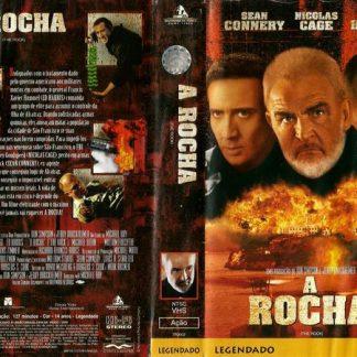 A Rocha, VHS original, Sean Connery, Nicolas Cage
