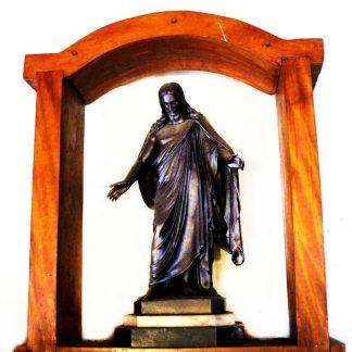 Estátua Jesus Cristo, em bronze