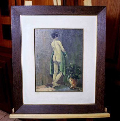 Helcio Iorio, nú artístico, pintura a óleo