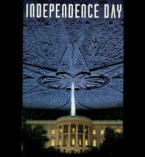 Independence Day, VHS original, Will Smith