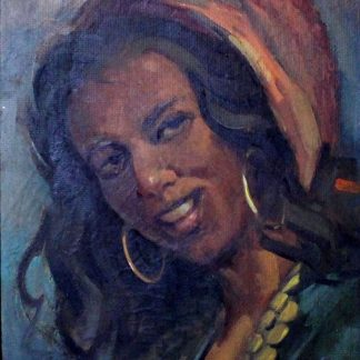 Waidergorn, Cigana, pintura a óleo