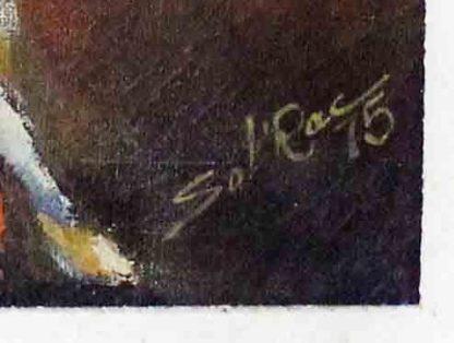 D'Solrac, Carnaval, pintura a óleo