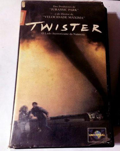 Twister, VHS original, Helen Hunt, Bill Paxton, Cary Elwes