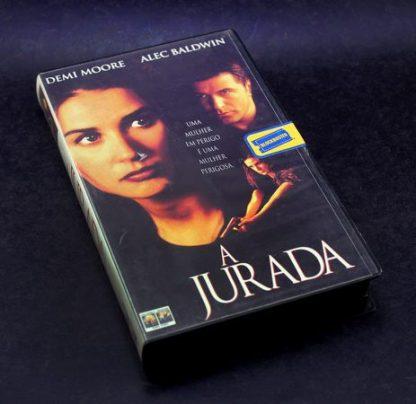 A Jurada, VHS original, Demi Moore, Alec Baldwin, Lindsay Crouse A Jurada familiamuda.com.br 2
