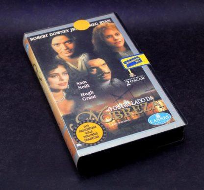O Outro lado da Nobreza, VHS original, Robert Downey Jr., Sam Neill, Meg Ryan Meg Ryan familiamuda.com.br 2