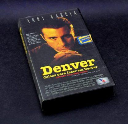 Coisas para se Fazer em Denver Quando Você Está Morto, VHS original,  Andy Garcia Andy Garcia familiamuda.com.br 2