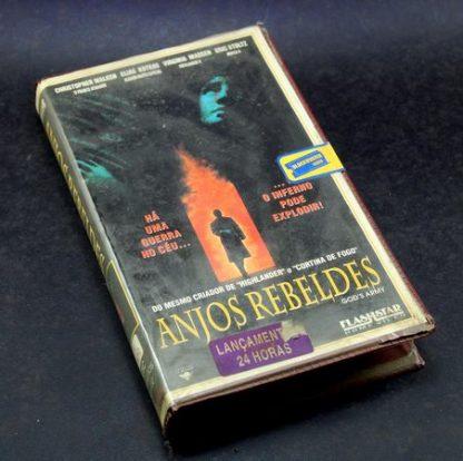 Anjos Rebeldes, VHS original, Christopher Walken, Elias Koteas, Virginia Madsen
